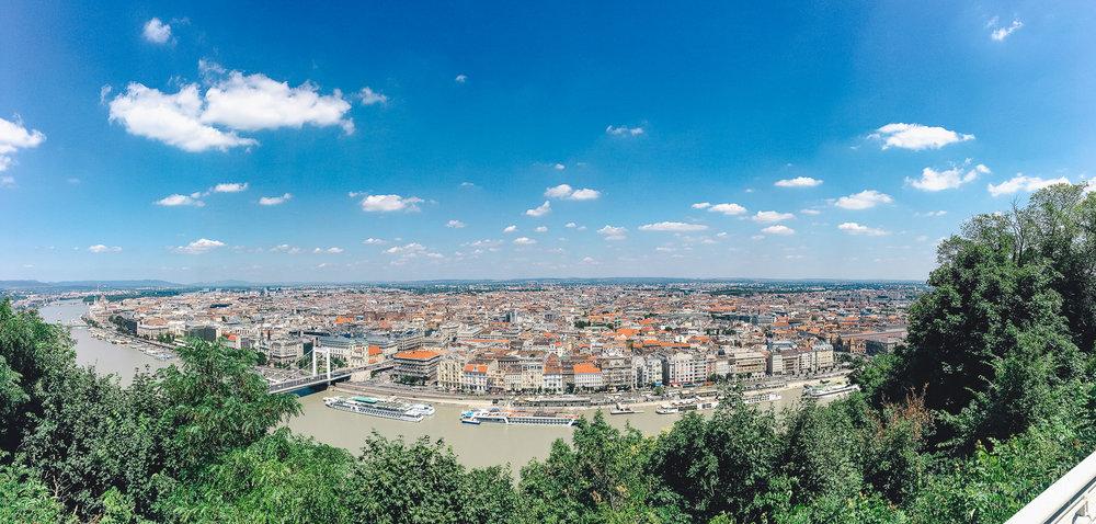 budapest, hungary, landscape, panorama, cityscape