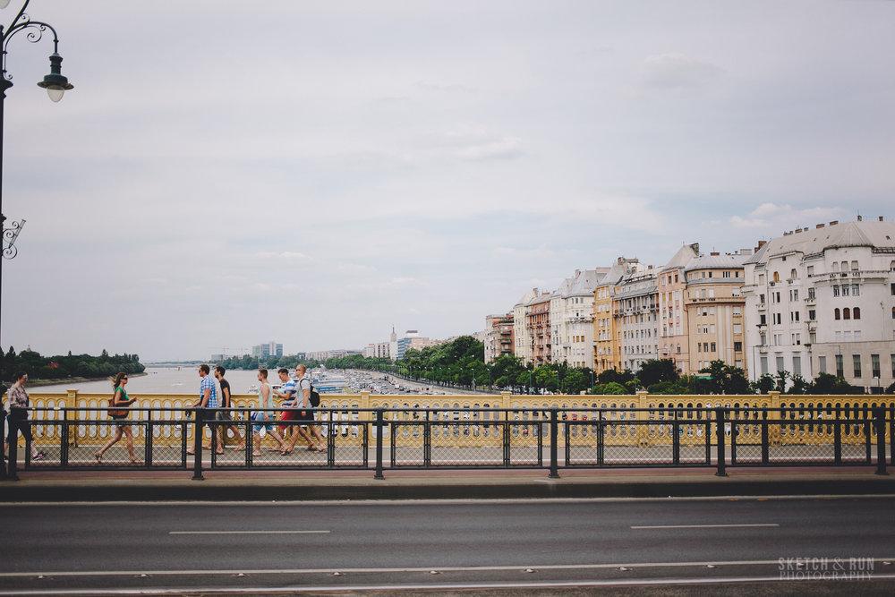 Landscape, Danube, Budapest, Hungary
