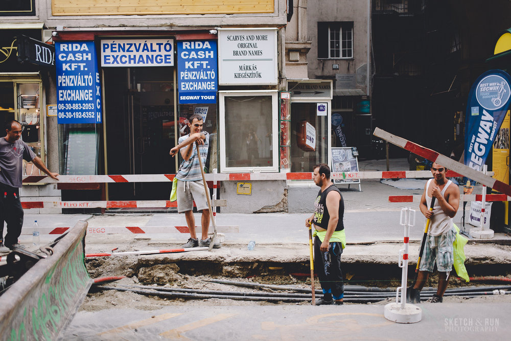 Budapest, Hungary, Street Photography
