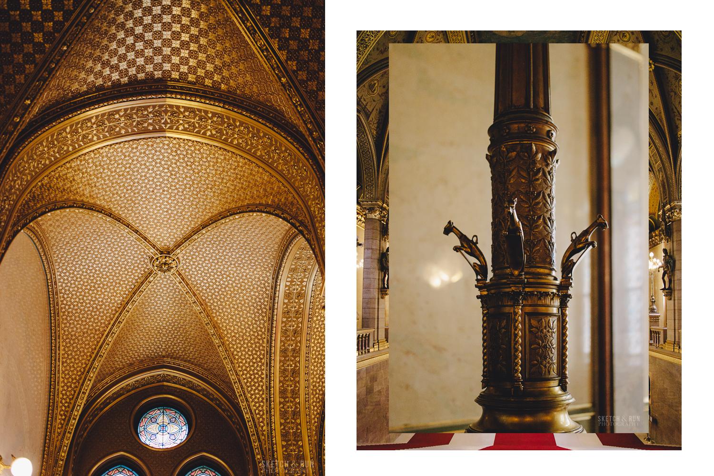 Hungarian Parliament, Interior, design, budapest