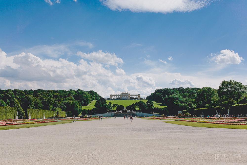 Schonbrunn Palace, Schonbrunn, Vienna, Austria