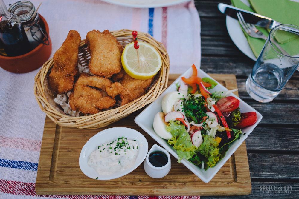 Vienna, Austria, Schnitzel, food