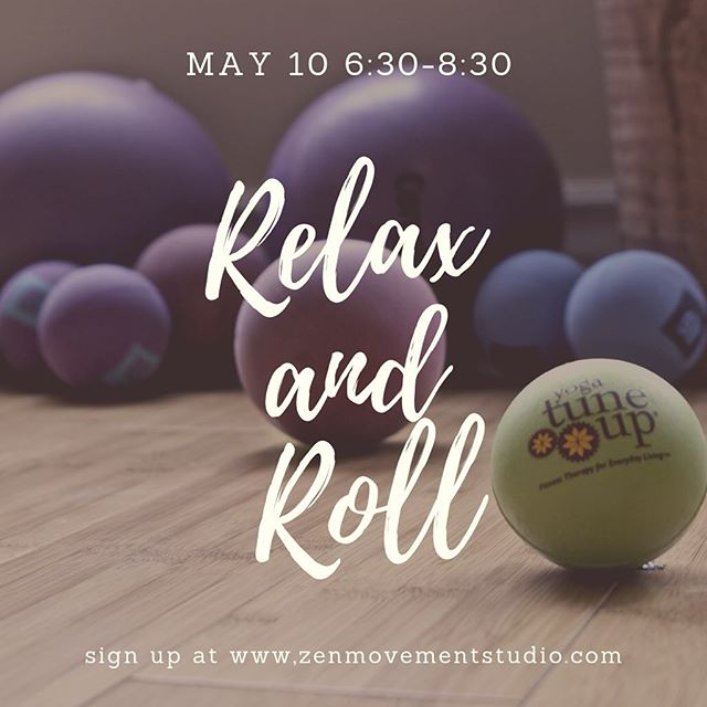 Over the moon to be headed to @zenmovementstudio to host this workshop on myofasical release . . We will indulge in a two hour self massage where we'll be utilizing simple but effective massage techniques to roll out any adhesions within our myofascia (such a buzz word these days). This workshop is based on the roll model method through @yogatuneup which is all about reducing pain, improving mobility and keeping tension at bay. It is such a lovely indulgence and I cannot wait to share it. If you'd like to join please DM me or head to www.zenmovementstudio.com to sign up . . . 📸: @yogatuneup as well