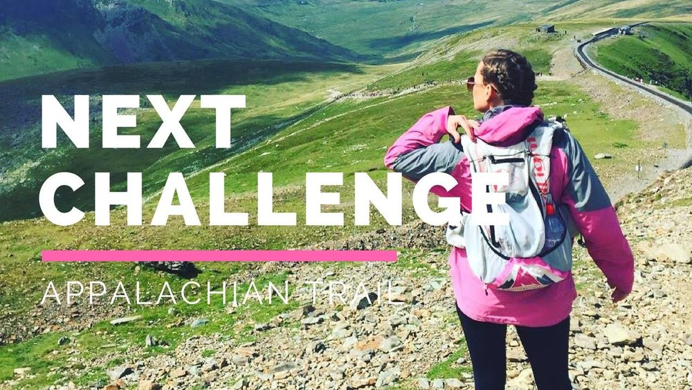 Sarah's 2017 challenge was to hike the Appalachian trail in just 100 days
