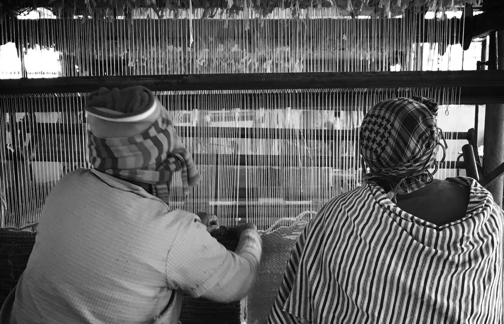 THE WOMEN BEHIND THE WARP AND THE WEFT