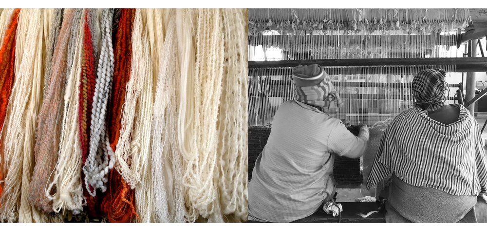 Luxury, hand-woven mohair rugs that are true to origin, sustainable and help to preserve craftsmanship in rural South Africa -  ELLE Decoration