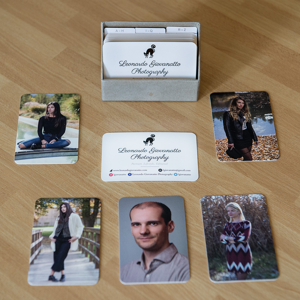 Leonardo Giovanatto Photography Business Cards