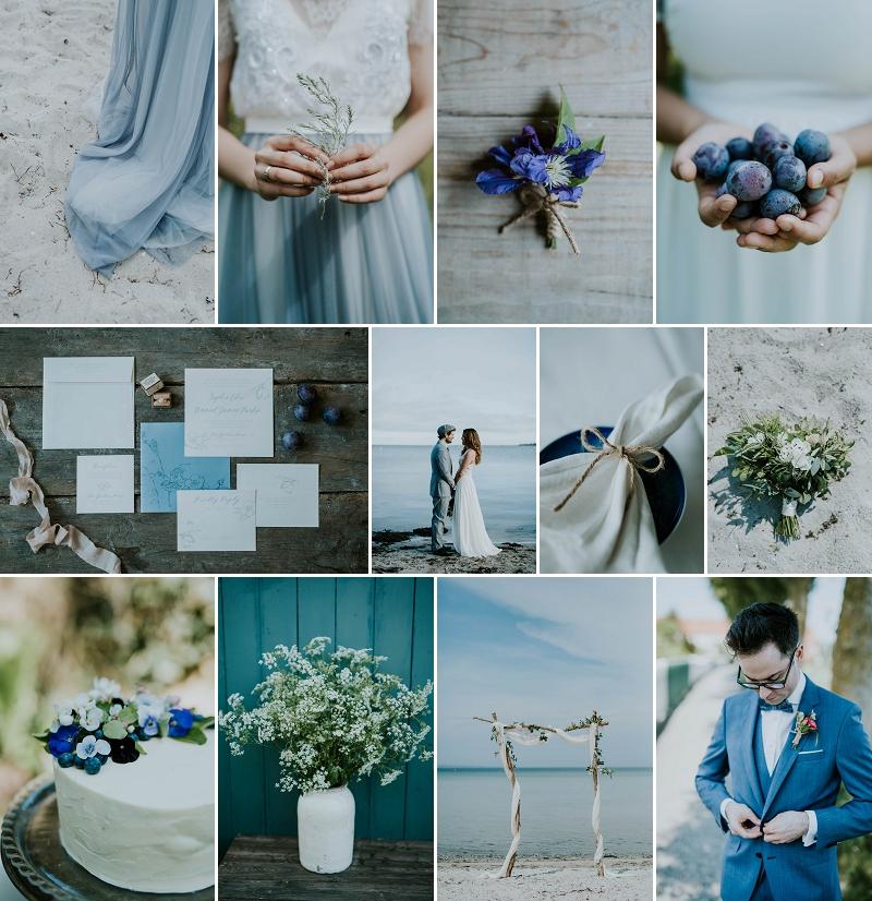 6328e75c8b Inspiration Board: Beach Wedding — Danish Island Weddings