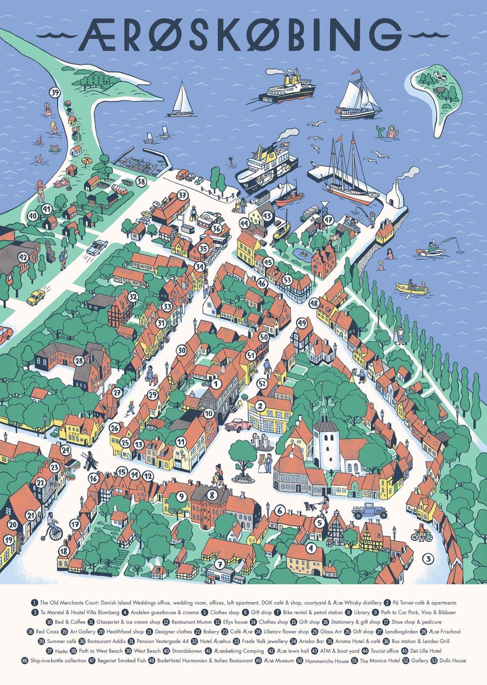 map-of-aeroe-island-denmark