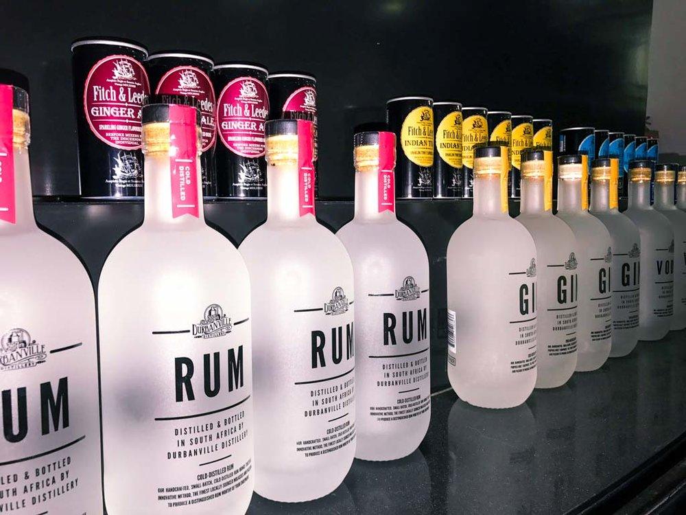 Durbanville Distillery lineup
