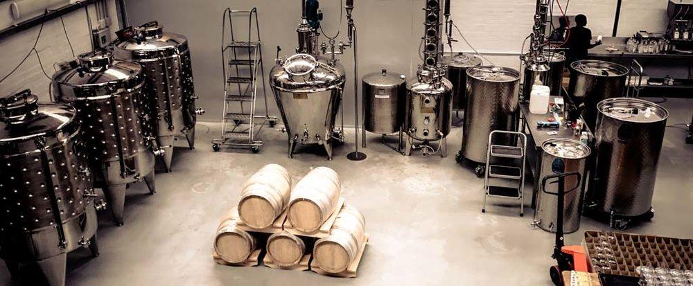 distilling floor