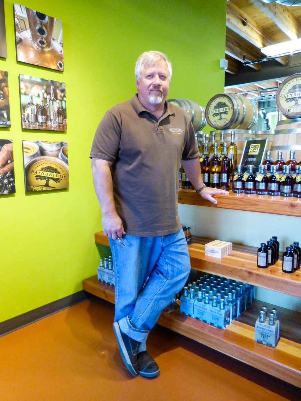 Storyteller Keith Barnes of Bainbridge Organic Distillery