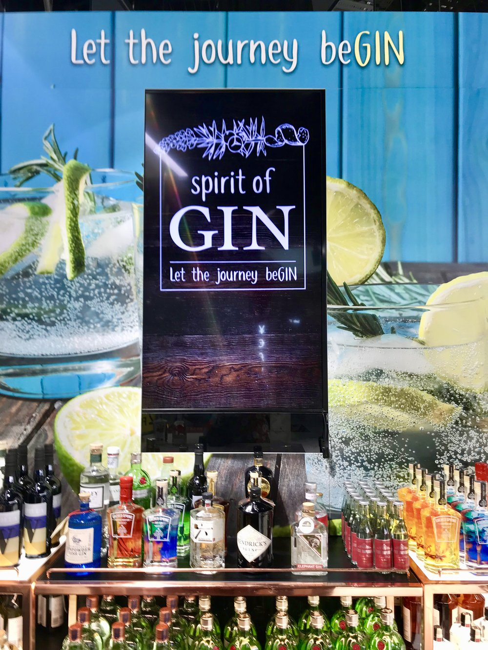 Let the journey be gin