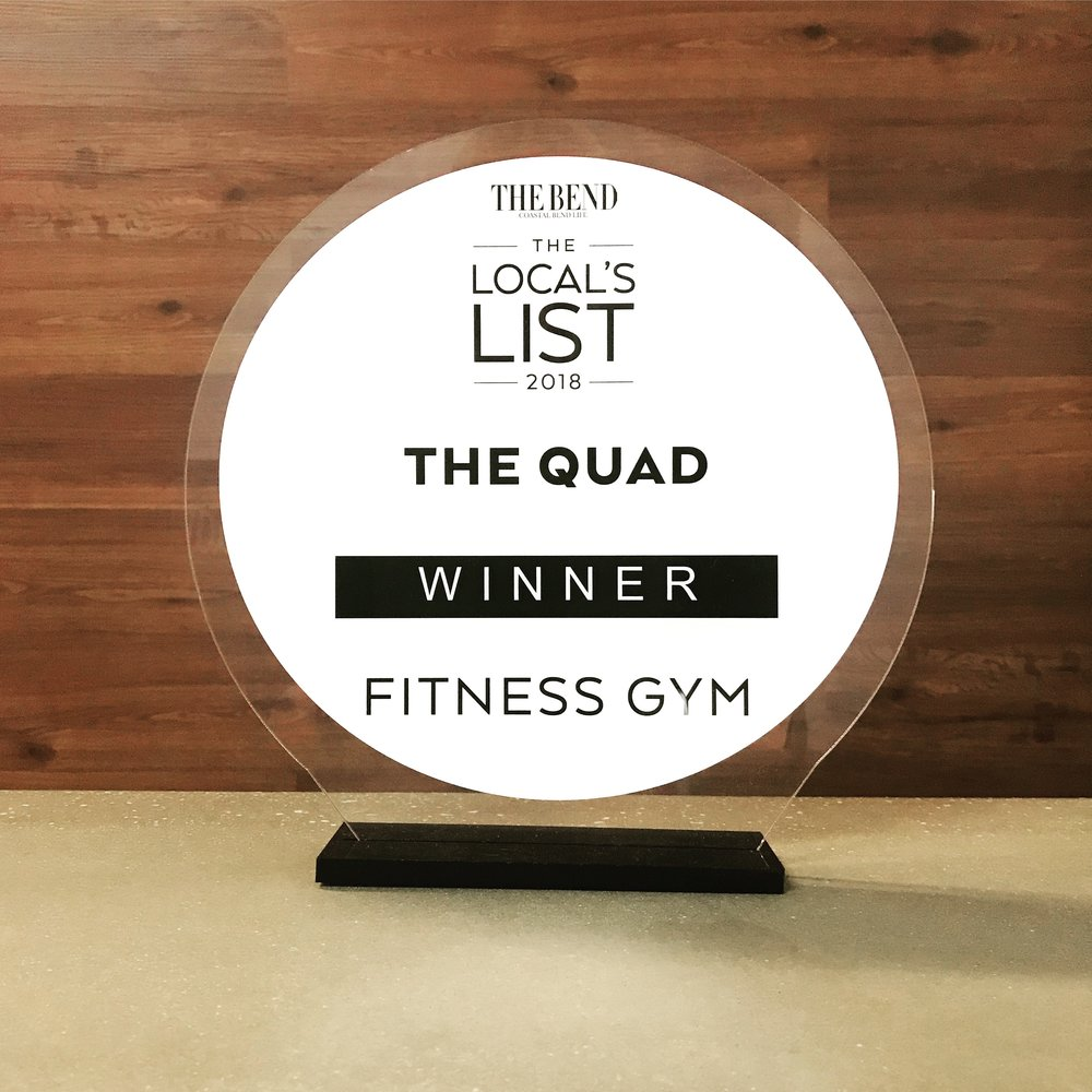 2018 Locals Choice For Best Fitness Gym -