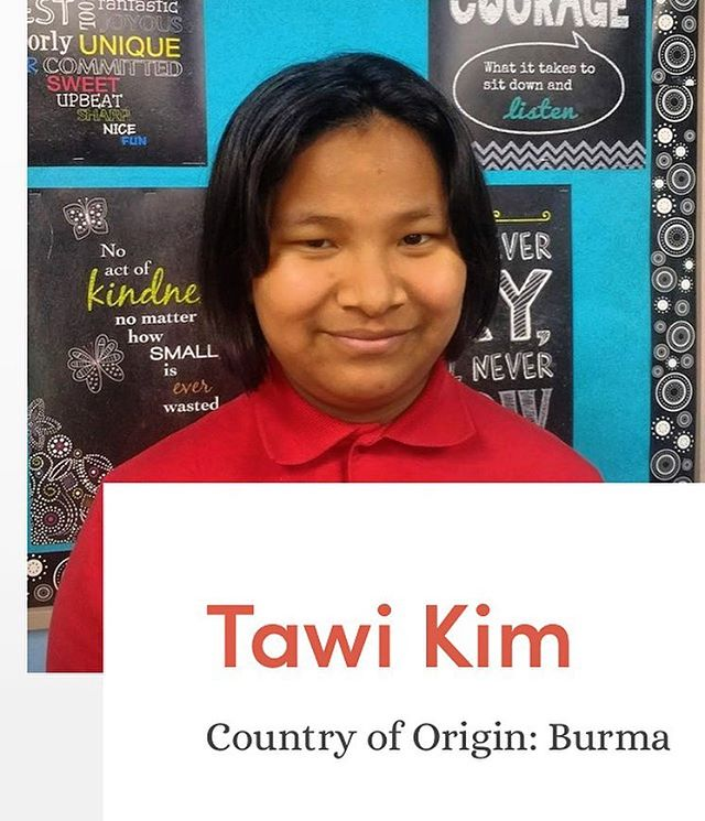 Tawi is a quiet 4th Grade student who enjoys reading, drawing, coloring, and art. She loves to eat any type of Asian food. Her favorite colors are pink, aqua, and yellow.  You can sponsor and get to know Tawi better for just $45.00 a month! Link in bio!