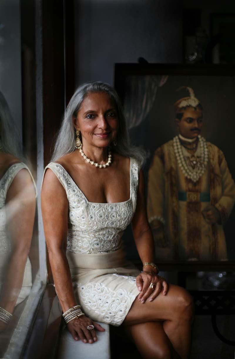 La principessa Monica Chudasama Varziralli