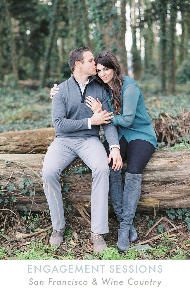 Engagement Sessions in San Francisco and Wine Country