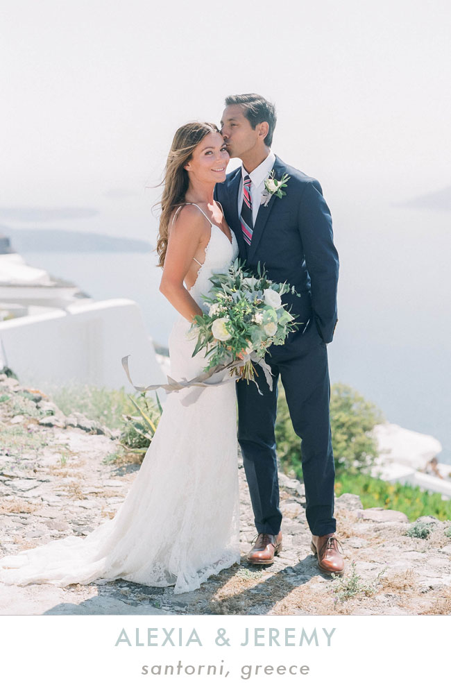 Santorini Greece Destination Wedding Photographer