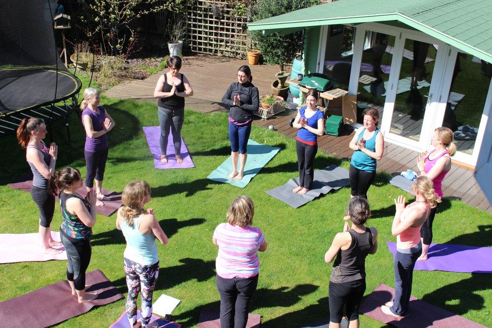 Sunday Workshop: Spring into Summer Sun Salutations