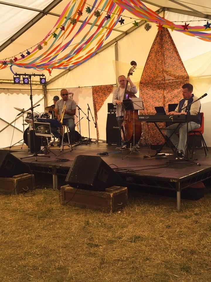 Jazz Numbers  at Northampton Umbrella Fair 2016 http://www.jazznumbers.co.uk