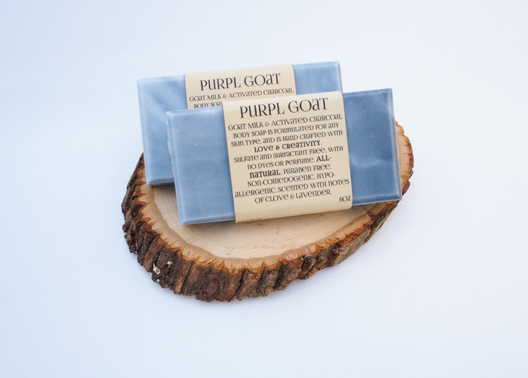 Goat Milk and Activated Charcoal Soap
