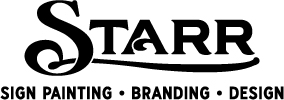 Starr Studios Sign Painting, Design & Gold Leaf: Dallas Fort Worth