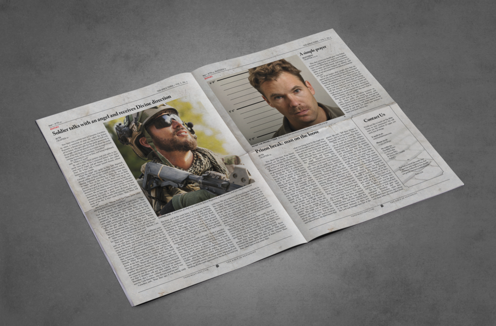 Newspaper Template 12 Page Newspaper Template Adobe Indesign