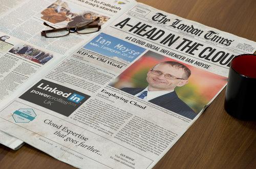 Newspaper Template 1 Page Newspaper Template Customization Service