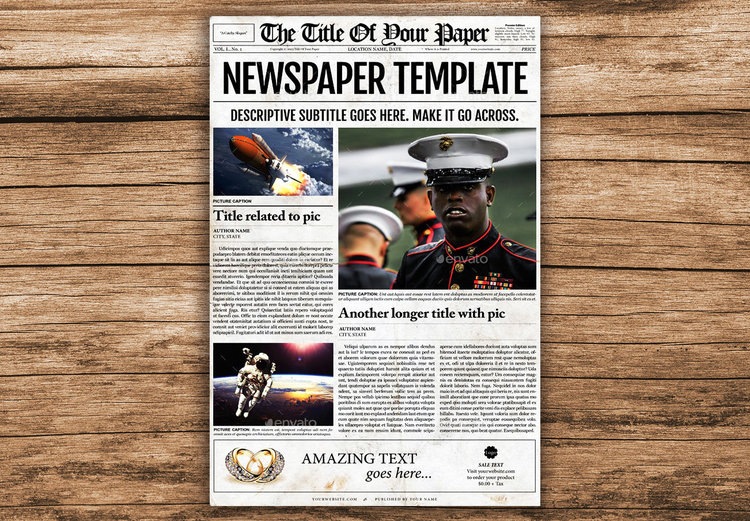 Newspaper Designers - Newspaper Templates for Word, Google