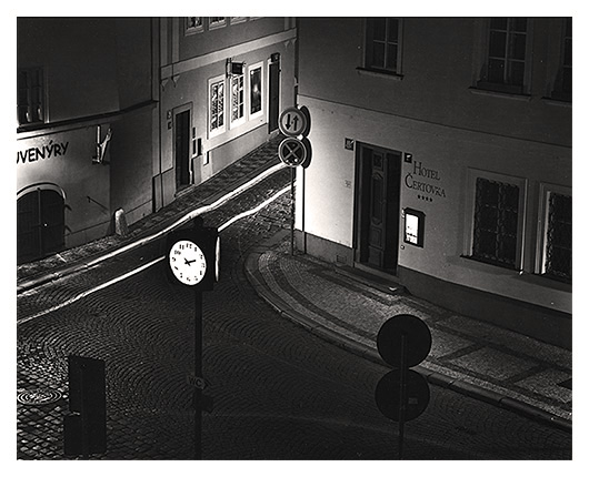 At Night, Kafka (Czech Republic)