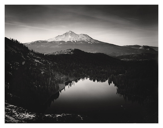Castle Lake and Mt. Shasta