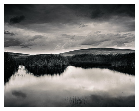 Pond and Montezuma Hills