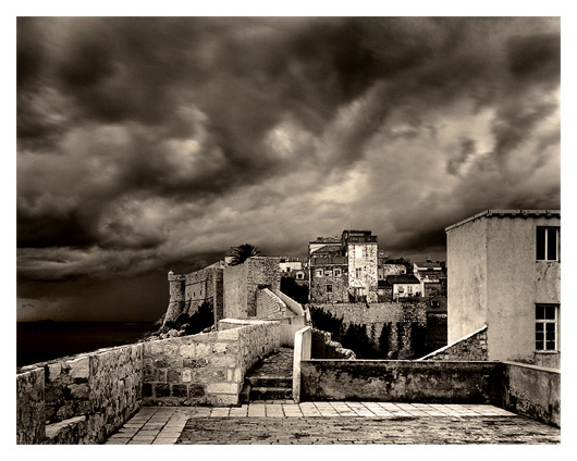 Dark Clouds Over Dubrovnik