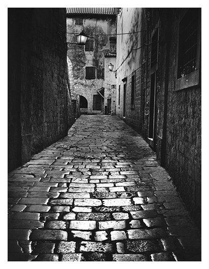 Cobbled Alley (Dubrovnik)