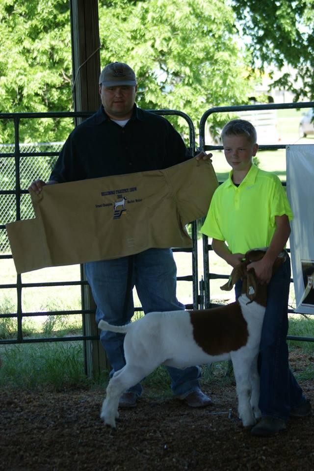 2016 Grand Champion Market Wether Hillsboro Prospect Show (Hoss x Helm 3525)