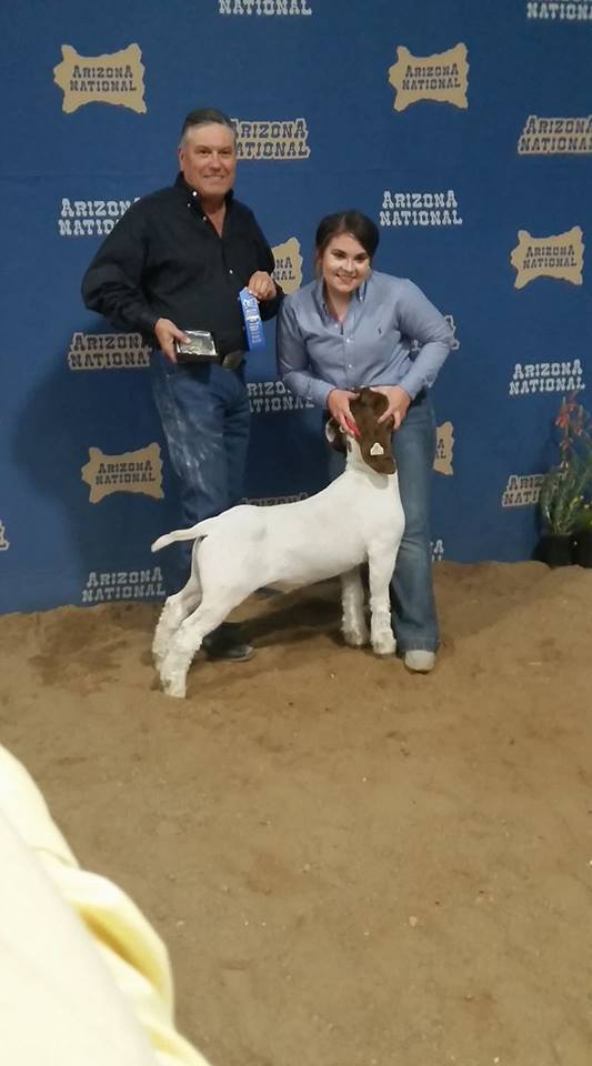 2017 Arizona National Champion Sr. Showman
