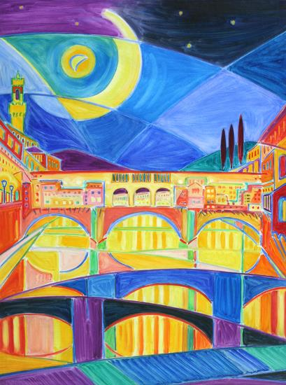 Moonlight, Florence. SOLD
