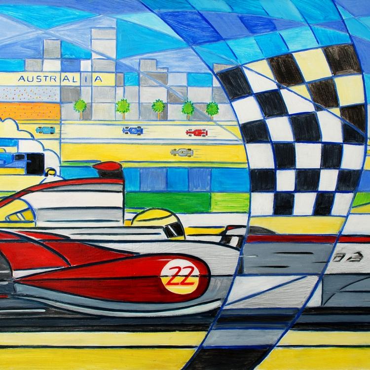Melbourne Grand Prix. SOLD