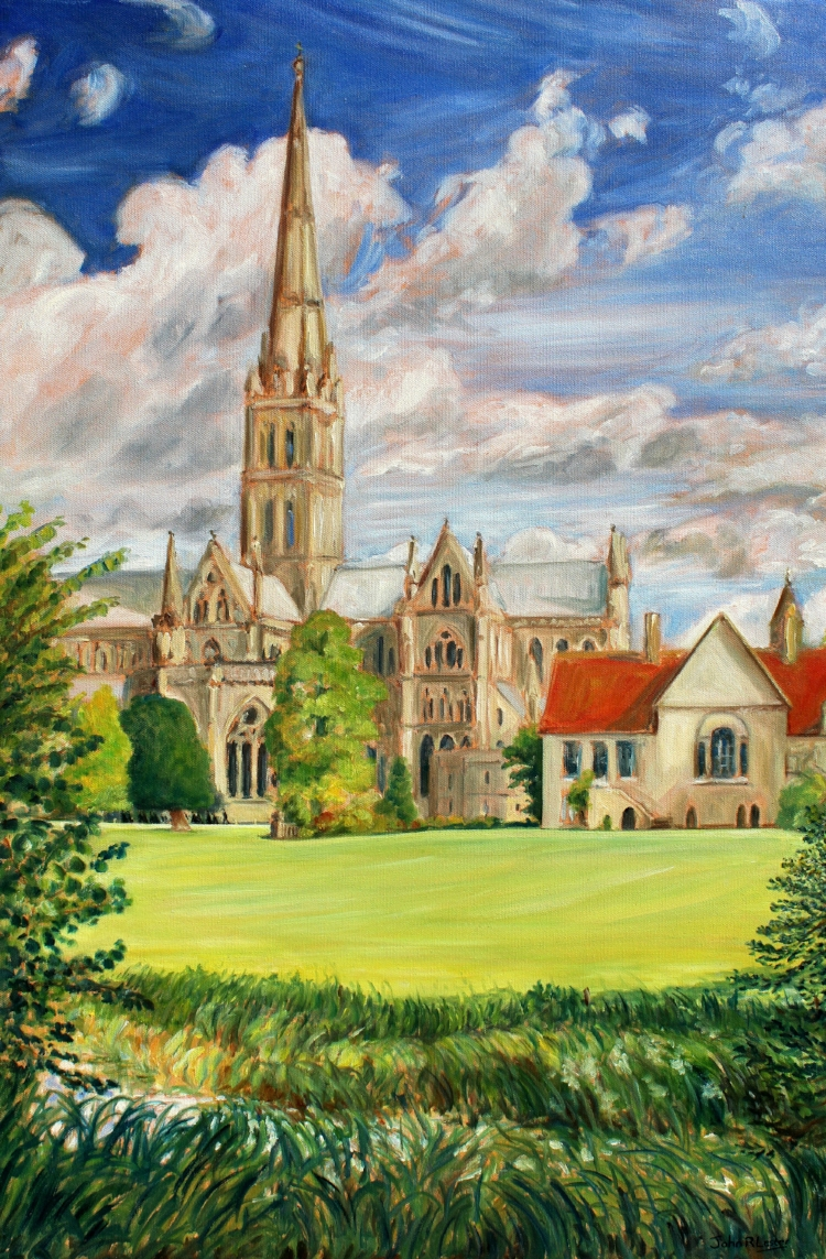 Salisbury Cathedral. NFS