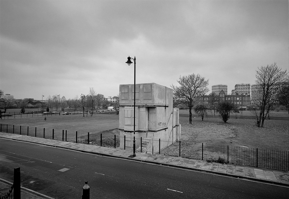 Rachel Whiteread, House (1993). Produced by Artangel. Photograph: John Davies