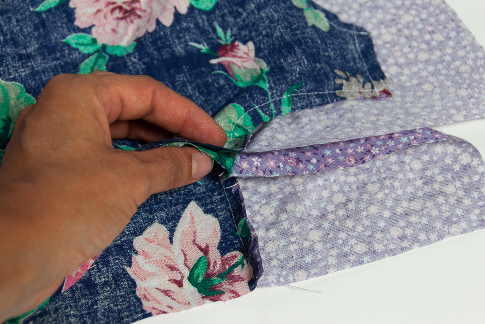 How to sew a lined vest - Sewing tutorial with photos