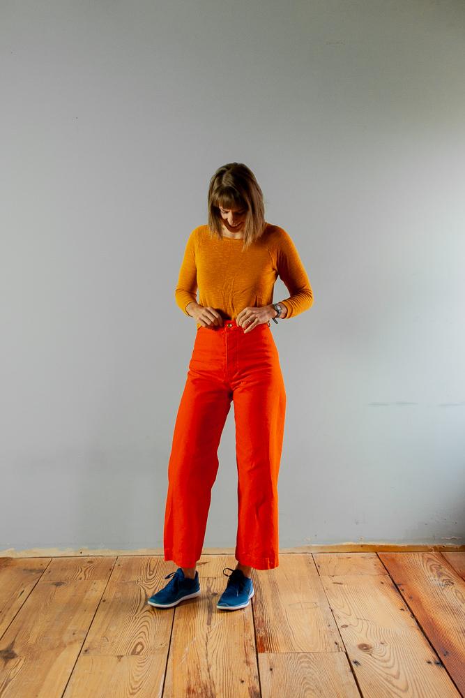Sewing the Persephone Pants - Sarah Kirsten