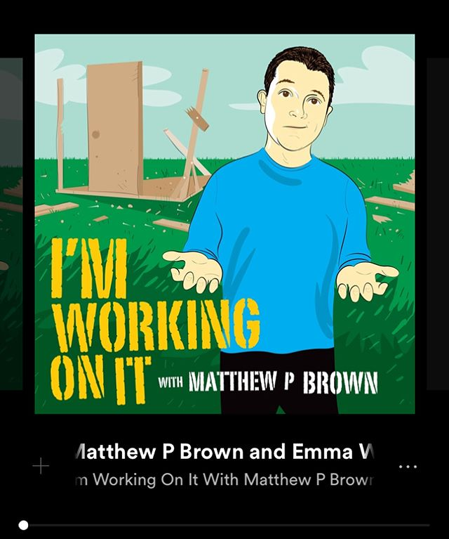 I'm Working On It is now available on @spotify ! Just search Matthew P Brown. Thank you to everyone listening and helping make this thing grow. You're the Shit! . . . . #comedy #standup #comedy #comedypodcast #spotify @mattpbrown