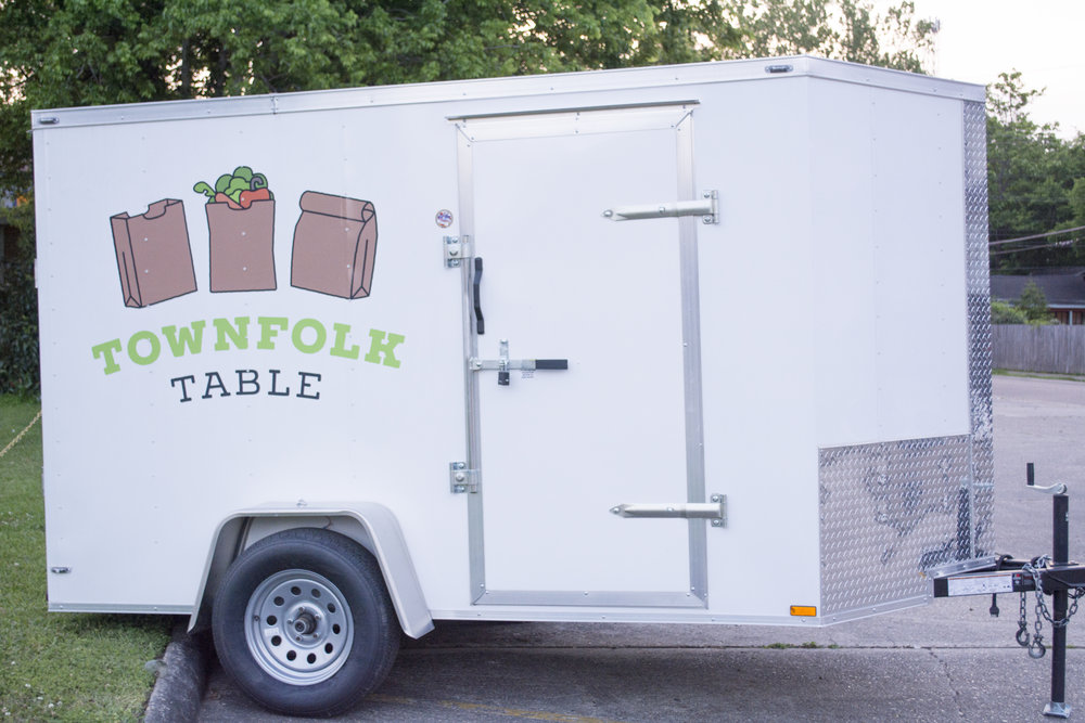 TownFolk Table Trailer