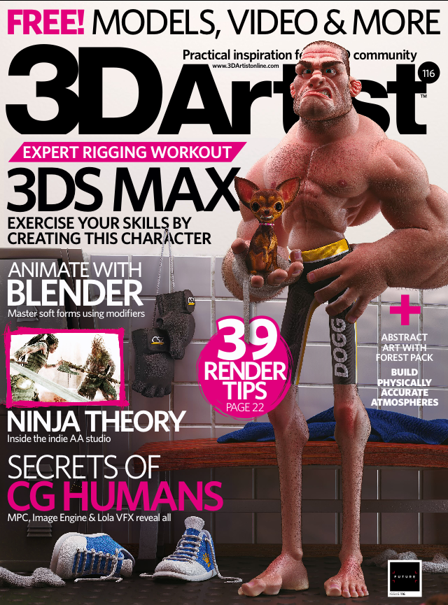 3D Artist Magazine Issue 116