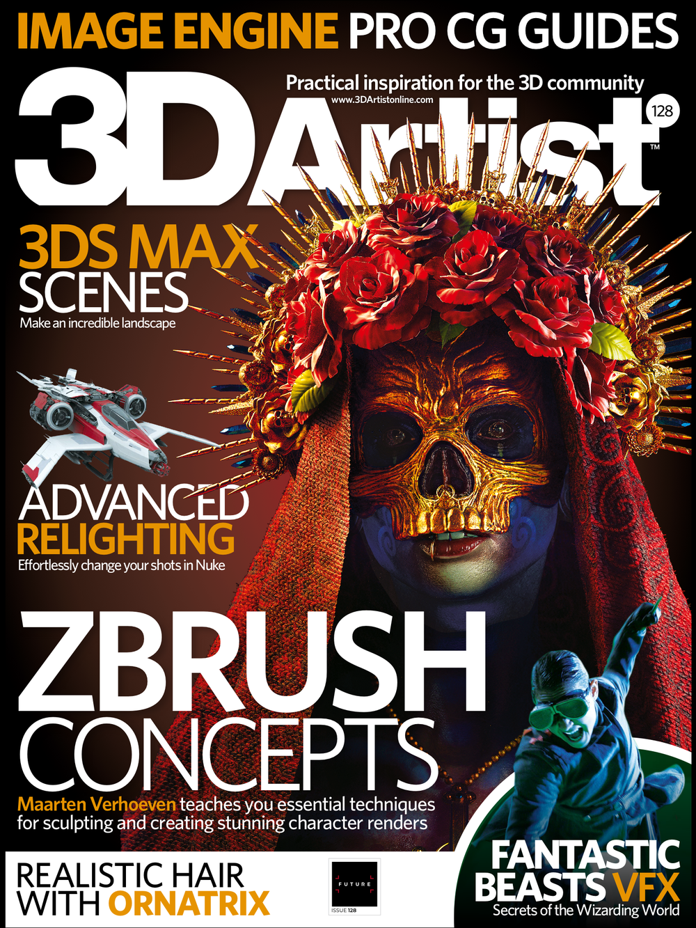 3D Artist Magazine Issue 128