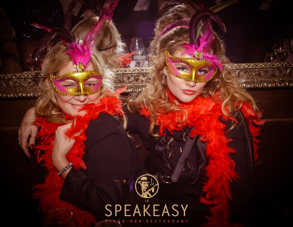 Le Speakeasy New Year's Eve