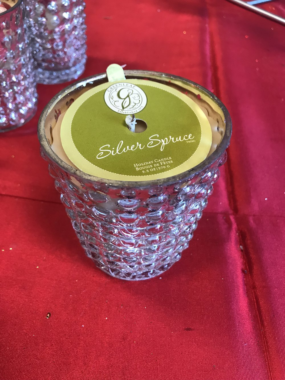 The perfect scent for Christmas! Find great seasonal candles at Deemers Flowers this holiday!