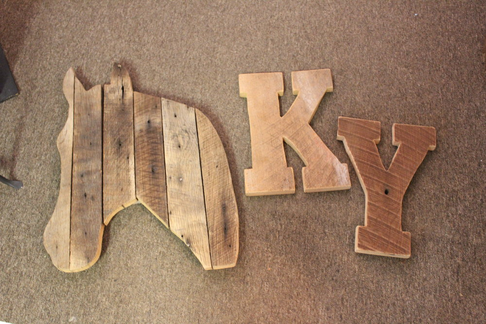 Stop by Lulus to shop their selection of handcrafted wood décor.