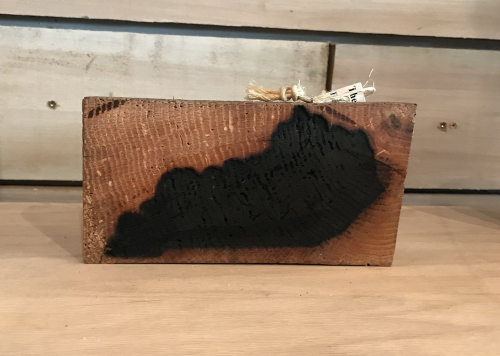 Pick up one as a gift and one for yourself! Burnt wood blocks starting at $24